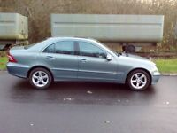 2007 Mercedes C200 Avantgarde Automatic 1.8 4 Door Saloon