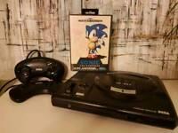Sega Mega Drive (2pads+game)