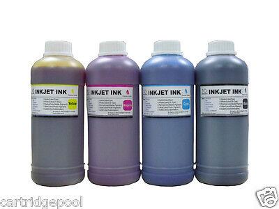 4 Pint Refill Ink Kit For Hp 60 60xl 61 61xl Envy 4500 5530