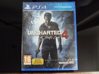 Uncharted 4 : A Thief's End - PS4 Game - Brand New & Sealed