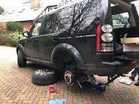Mobile Mechanic Vehicle Servicing Car Repair Diagnostics