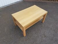Brown Wooden Coffee Table FREE DELIVERY 763