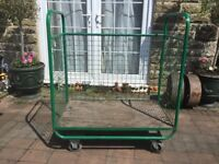 Trolly with cage