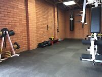 Private Personal Trainer Training in Private Gym