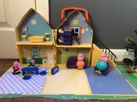 Peppa Pig House and Playground