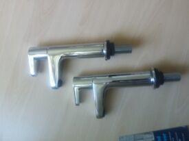 Bristan high neck bathroom taps