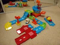 Vtech toot toot airport with aeroplane and toot toot launcher