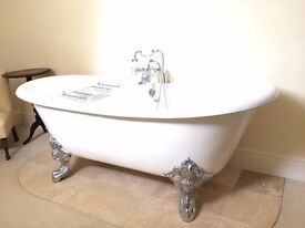 Cast iron claw foot bathtub - New, never been used