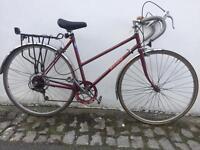 Vintage Raleigh Drop bar Road Bike