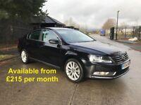 Volkswagen Passat (A4 A5 520d A6 Jetta Leon 320d) £215 per month