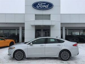 2017 Ford Fusion SE LUXE AWD - LEATHER, NAV & MOONROOF *13600KM*