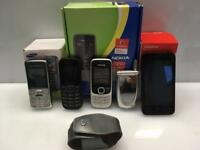 Mobile Phones Bundle Various makes