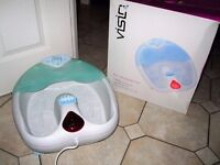 VISIQ Infrared Footbath Massage Foot Massager*** excellent condition