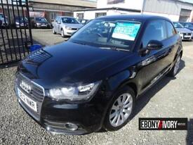 Audi A1 1.6 TDI SPORT 3dr + FULLY SERVICED + 1 YEAR MOT (black) 2012