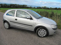 Vauxhall Corsa 1.0 Life Years MOT 81K Only £1175 Low insurance. Alloys ,CD, Air con.