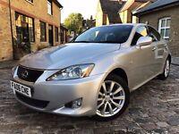 Lexus IS 220d 2.2 TD SE 4dr£3,490 p/x welcome **FULL S/H*ONLY 2 OWNERS** 2006 (06 reg), Saloon