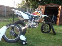 Honda xr 400 440 super moto enduro/off road