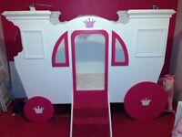 Handmade princess carriage bed