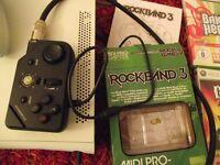 rockband midi pro adapter +midi lead