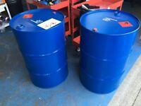Oil drums, burning barrels, garden burner, drum BBQ, steel drums 205 litre 44 gallon (regular stock)