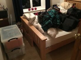 Pine Bedroom furniture.