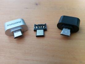 USB 2.0 Micro USB OTG Adapter