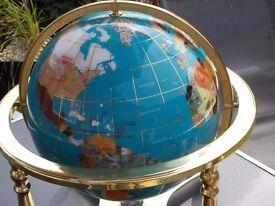 Light Blue 330m gemstone globe,