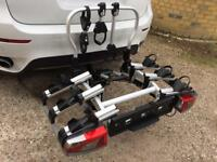 Genuine Mercedes Benz 3 bike carrier, rack, Towbar mounted, foldable, similar to Thule