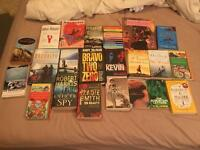 Selection of various novels used but good condition