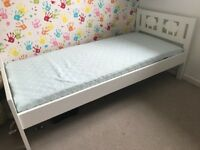 Ikea Kritter Toddler bed in white