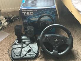 Thrustmaster T80 PS3/4 racing wheel