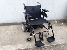 ELECTRIC WHEELCHAIR, EXTRA WIDE, HOLDS 28 STONE, FOLDING Bariatric I CAN DELIVER