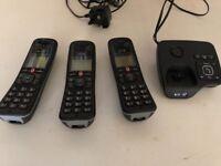 BT Digital Trio Home Phones