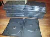 DVD Cases Double 40+ (112#)