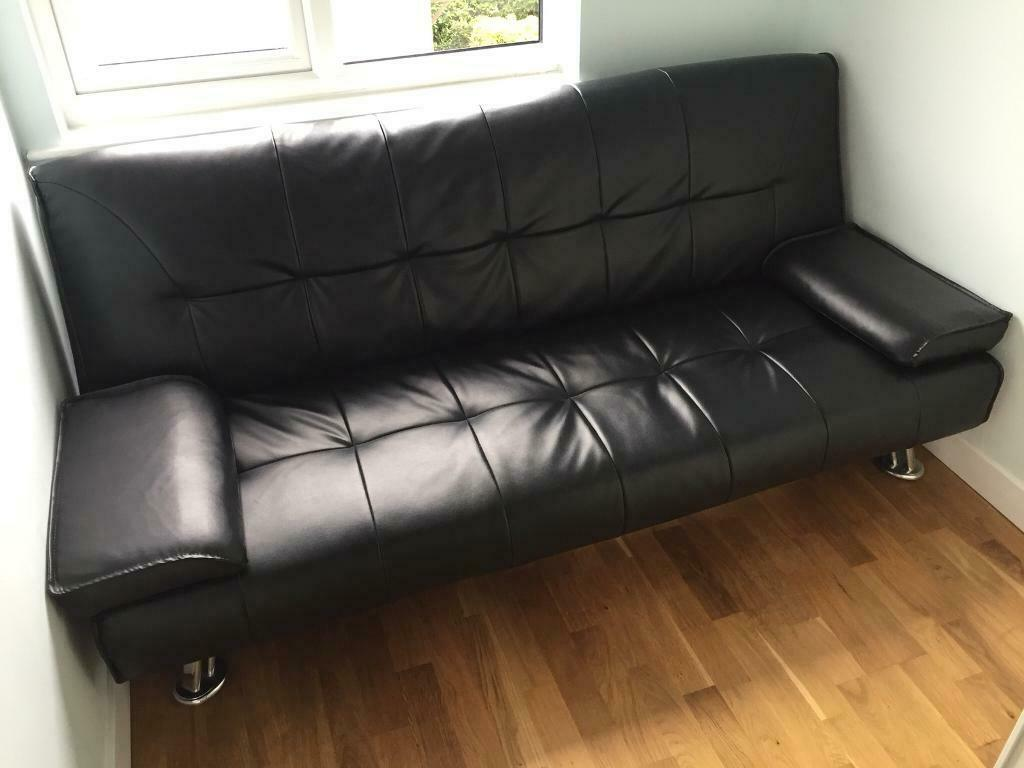 Swell Black Montana Sofa Bed In Norwich Norfolk Gumtree Evergreenethics Interior Chair Design Evergreenethicsorg