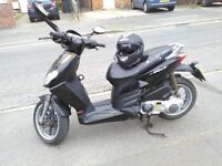 MOPED FOR SALE APRILIA SPORT CITY ONE 125 Very Good condition