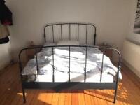 King size bed and Ikea mattress