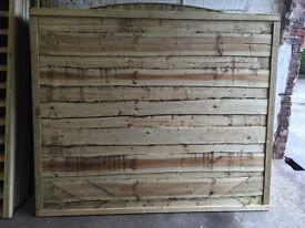Heavy Duty High Quality Pressure Treated Wayneylap Garden Fence Panels