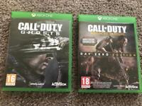 CALL OF DUTY Xbox one games