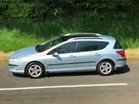 2007 Peugeot 407 2.0 Hdi SE SW Estate LOW MILES ONLY 101K, TRADE IN CONSIDERE...