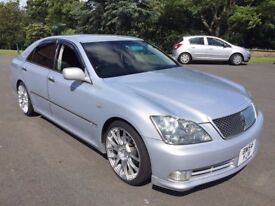 STUNNING TOYOTA CROWN 3.0 V6 (NOT GS300 IS250 MARK X S350) NEW IMPORT HIGH GRADE 4