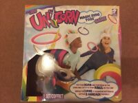 Funny Unicorn magic ring toss game