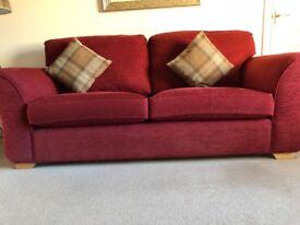 Quality sofas 3 +2 + storage foot stool