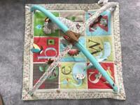 Activity gym alphabet - baby play mat