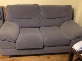 Lilac 2 seater Sofa for Sale x2
