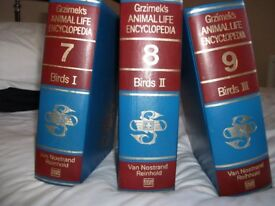 Vintage Bird Encyclopedias for sale by Bernhard Grzimek.