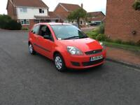 2008 Ford Fiesta 1.25 Good Condition, Cheap Insurance