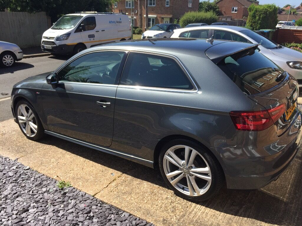 audi a3 s line 1 6 tdi daytona grey 2013 immaculate throughout in hemel hempstead. Black Bedroom Furniture Sets. Home Design Ideas