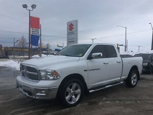 2012 Ram 1500 Big Horn Quad 4X4 ~P/Seat ~Chrome Side Steps