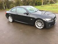BMW 3 Series 2.0 320d M Sport 2dr Full Service History, 1 Owner, Long Mot 2018, Excellent Condition.